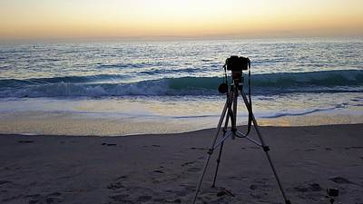 Ocean Photograph - Capturing by Ric Schafer
