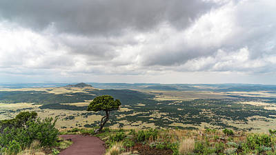 Photograph - Capulin Volcano Trail New Mexico by Lawrence S Richardson Jr