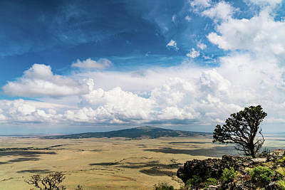 Photograph - Capulin Volcano View New Mexico by Lawrence S Richardson Jr