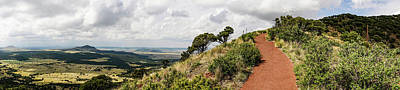 Photograph - Capulin Volcano View Panorama New Mexico by Lawrence S Richardson Jr