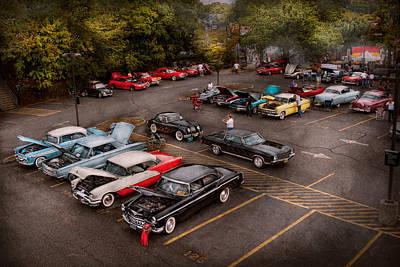 Photograph - Car - Antique Car Show  by Mike Savad