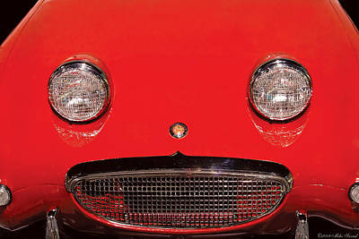Photograph - Car - Say Cheese by Mike Savad
