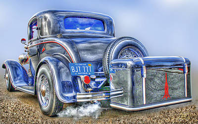 Car 54 Rear Art Print