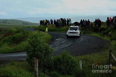 Tina Turner - Car 70 Donegal International Rally Ireland 2018 by Eddie Barron