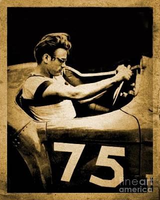 Car 75 Art Print by Christina Perry