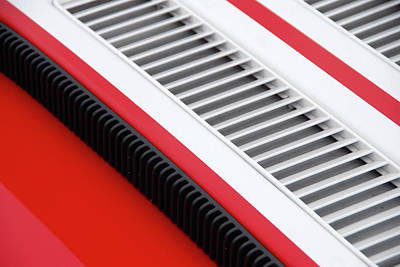 Photograph - Car Art Louvers by John Schneider