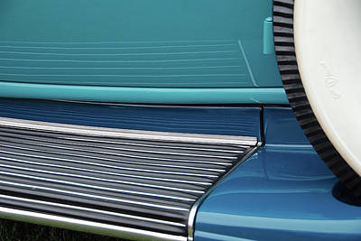 Photograph - Car Art Running Board by John Schneider