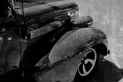 Car Art Unique Reflections Art Print