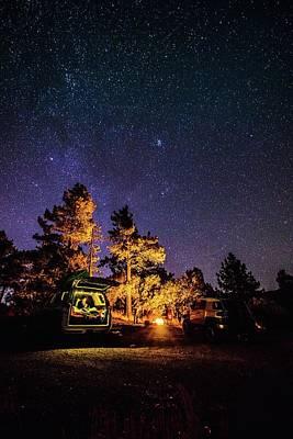 Car Camping Art Print