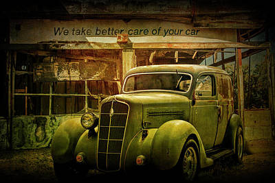 Photograph - Car Care by Randall Nyhof