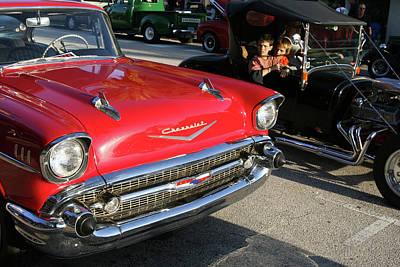 Photograph - Car Envy In Daytona Beach Florida by Carl Purcell