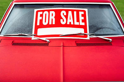Photograph - Car For Sale by Todd Klassy