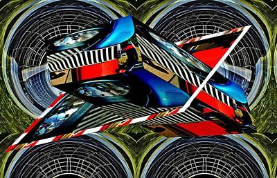Kids Alphabet - Car grille as art 2 by Karl Rose