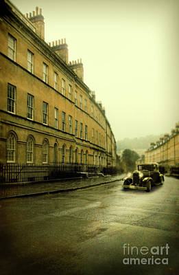 Photograph - Car On A Street In Bath by Jill Battaglia