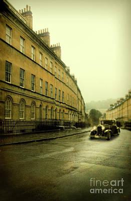 Photograph - Car On A Street In Bath by Jill Battaglia