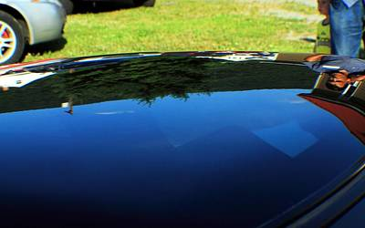City Scenes - Car reflection 13 by Karl Rose