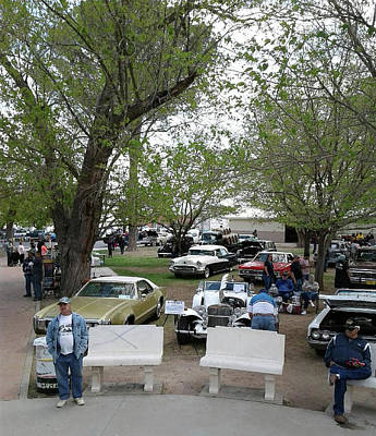 Photograph - Car Show In Deming N M by Jack Pumphrey