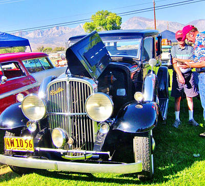 Photograph - Car Show by Marilyn Diaz