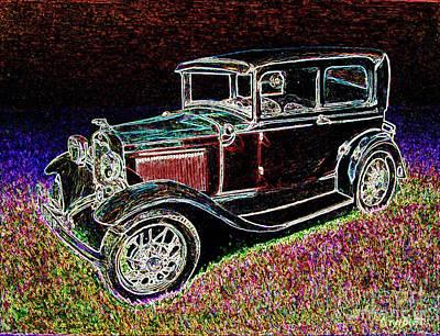 Car-umba 1 Art Print by Peter Paul Lividini