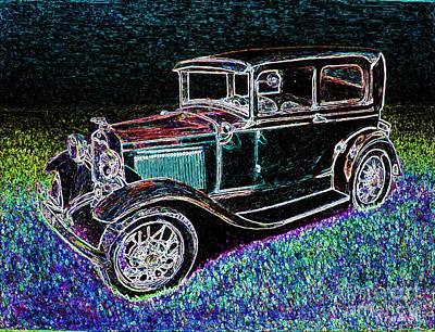 Car-umba 2 Art Print by Peter Paul Lividini