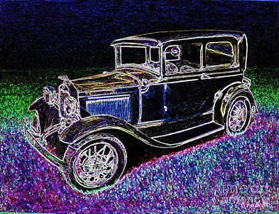 Car-umba 3 Art Print by Peter Paul Lividini