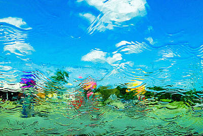 Photograph - Car Wash Windshield by Pam Kaster
