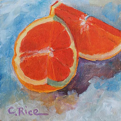Painting - Cara Cara Orange by Chris Rice