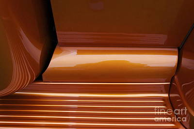 Photograph - Caramel Abstract by Linda Bianic