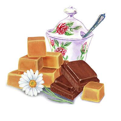 Painting - Caramel Chocolate by Irina Sztukowski