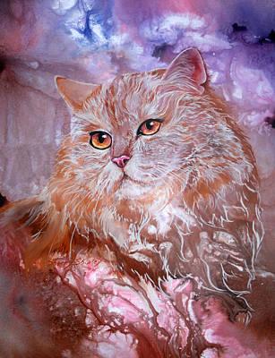 Caramel Cream Art Print