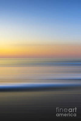Ocean Energy Photograph - Caramel Dawn - Part 3 Of 3 by Sean Davey