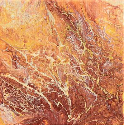 Painting - Caramel Swirl by Nancy Jolley