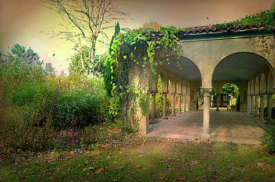 Greek Columns Photograph - Caramoor Amore by Diana Angstadt