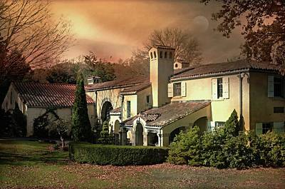 Photograph - Caramoor Estate At Dusk by Diana Angstadt