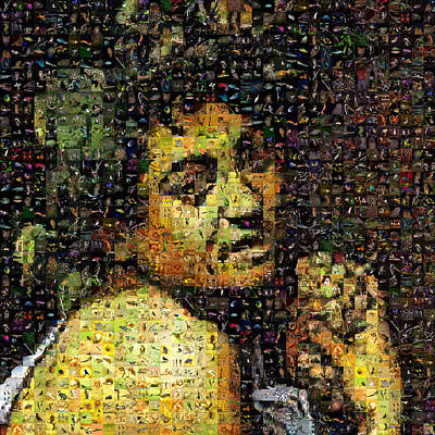 Caravaggio Digital Art - Caravaggio - Bacchino Malato by Gilberto Viciedo