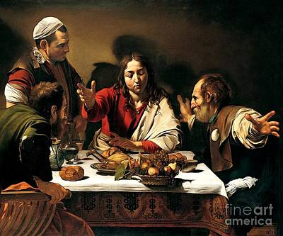 Caravaggio Painting - Caravaggio by MotionAge Designs