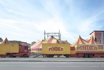 Photograph - Caravan Circus by Alfio Finocchiaro
