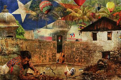 Digital Art - Caravan by Ricardo Dominguez
