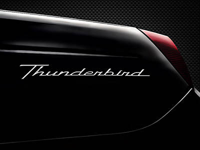Thunderbird Digital Art - Carbon Black Thunder by Douglas Pittman
