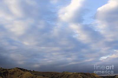 Carbon Canyon Hills And Big Sky Art Print by Viktor Savchenko