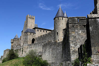 Photograph - Carcassone 2 by Andrew Fare
