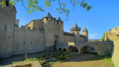 Photograph - Carcassonne by Alan Toepfer