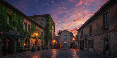Photograph - Carcassonne by Ander Alegria