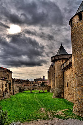 Carcassonne Castle Art Print by Gareth Davies