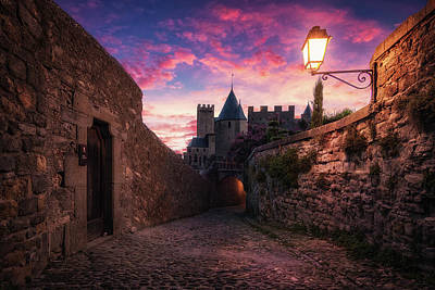 Photograph - Carcassonne II 2x3 by Ander Alegria