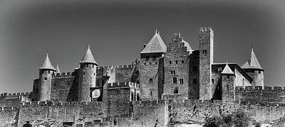 Photograph - Carcassonne by Jeremy Voisey