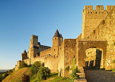 Photograph - Carcassonne by Stephen Taylor