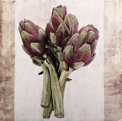 Paintings - Carciofoni by Guido Borelli
