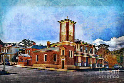 Photograph - Carcoar Post Office by Stuart Row