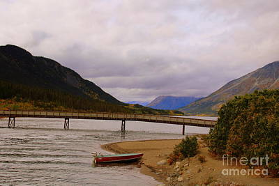Photograph - Carcross  British Columbia by Lennie Malvone